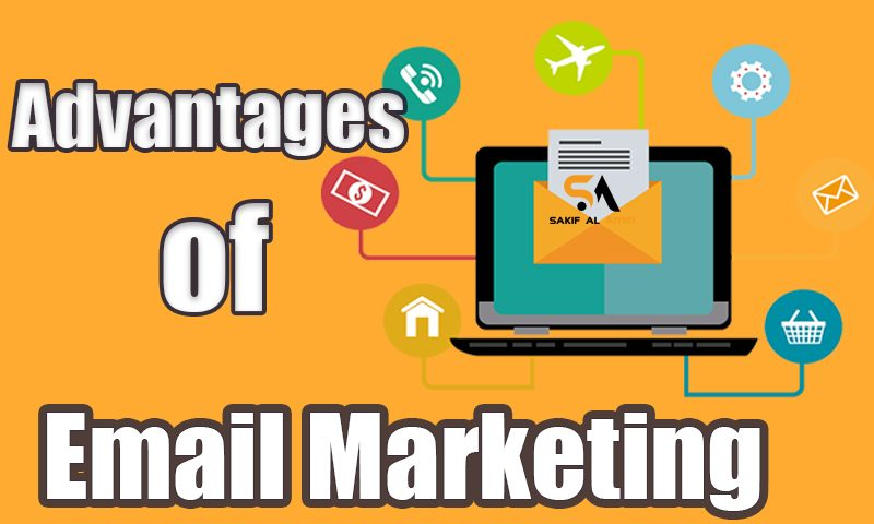 An Email can be used for different marketing campaign