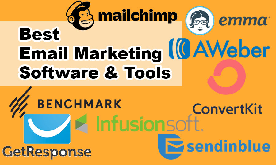 Some Top Email Automation Software Brand Name with Logo