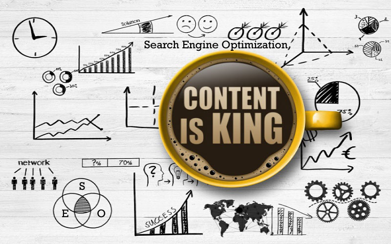 Content is King for SEO Strategies