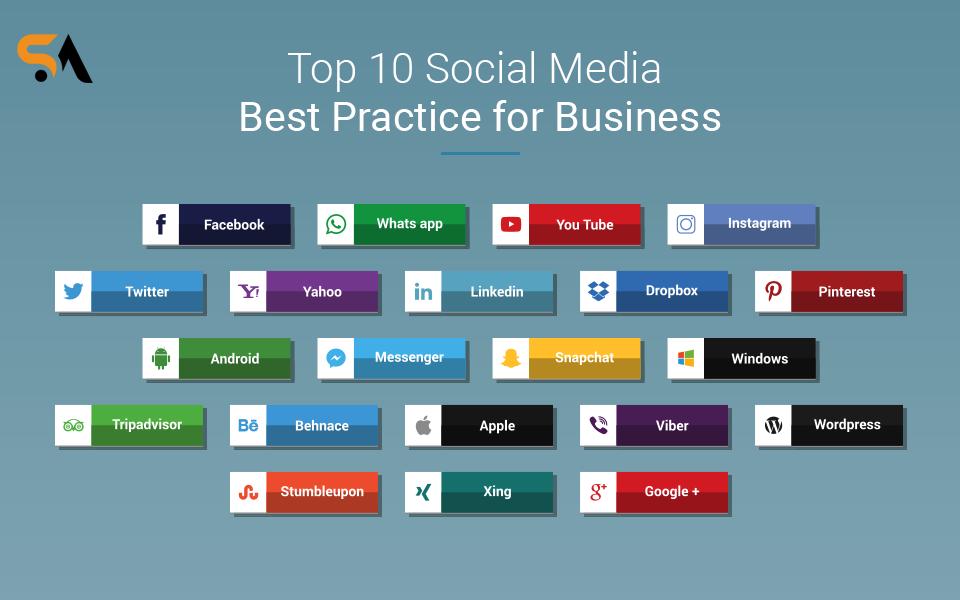 Social media best practice for business